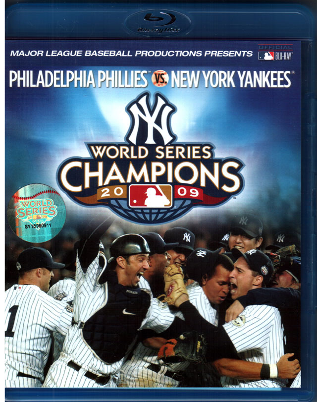 MLB World Series 2009 bluray region A+B